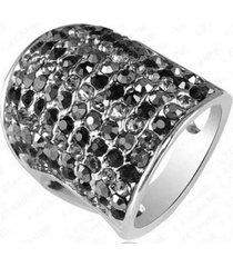anillo colosal negro arany joyas
