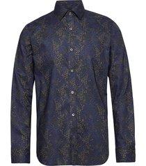 trostol b1 overhemd casual blauw matinique