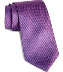 men's david donahue textured silk tie