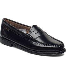 gh weejun ii wmn penny loafers låga skor svart g.h. bass