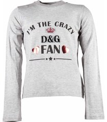 """i'm the crazy d&g fan"" jersey t-shirt"