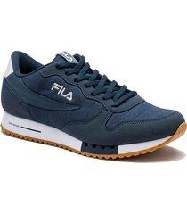 zapatilla azul fila f euro jogger sport