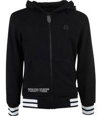 philipp plein hooded sweat jacket