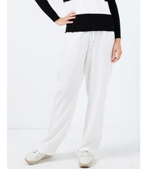 spodnie z szeroką nogawką