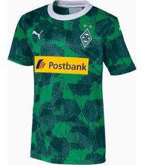 borussia mönchengladbach derde replica-shirt, groen/aucun, maat 128   puma