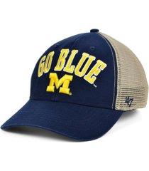 '47 brand michigan wolverines outland trucker cap