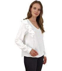 blusa juana blanca jacinta tienda