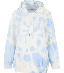 tie-dye print hoodie