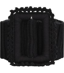 msgm knitted belt