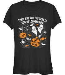 fifth sun star wars women's not the treats you're looking for short sleeve tee shirt
