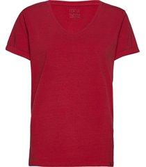 adele tee t-shirts & tops short-sleeved röd minus