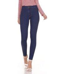 calça jeans areazul jegging feminina