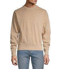 crewneck cotton sweatshirt