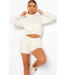nepwollen oversized hoodie, ivory