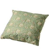 almofada de algodão florista com enchimento