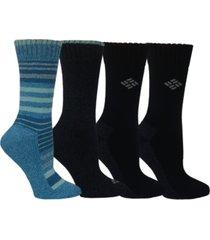 columbia 4-pk. moisture-control crew socks