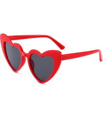 heart shape full frame sunglasses