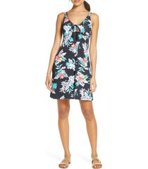 women's tommy bahama floral springs cover-up spa dress