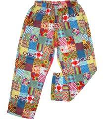 pantalón multicolor cante pido plano pixeles