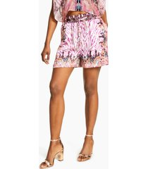 inc international concepts printed drawstring shorts, created for macy's