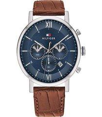 reloj tommy hilfiger 1710393 marrón -superbrands
