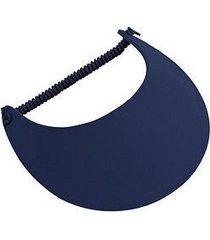 otto fabric foam soft visors (color-navy)