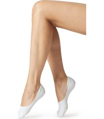 calzedonia unisex cotton no show socks woman white size 31-33