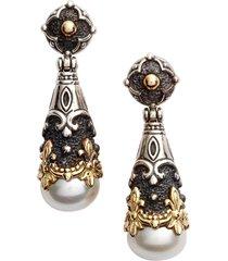 konstantino nemesis teardrop earrings in pearl at nordstrom