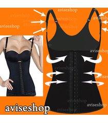 underbust waist trainer cincher vest girdle chaleco body shaper shapewear corset