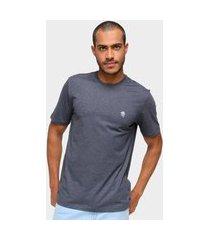 camiseta masculina marc ecko malha lisa dia a dia amarelo p azul