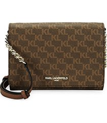 connie logo printed crossbody bag