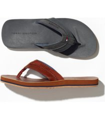 tommy hilfiger men's dilly thong sandals men's shoes