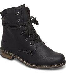 71229-02 shoes boots ankle boots ankle boots with heel svart rieker
