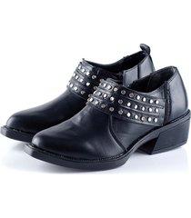 bota negra duo bai