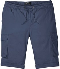 bermuda cargo con elastico in vita taglio comfort regular fit (blu) - bpc bonprix collection