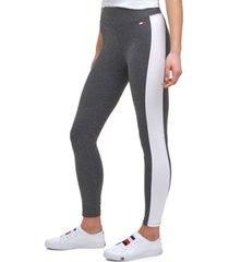 tommy hilfiger sport side panel full length leggings