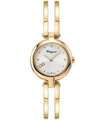women's salvatore ferragamo bangle bracelet watch; 26mm
