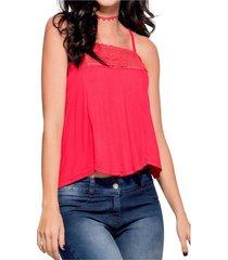 blusa rojo atypical
