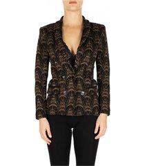 blazer nenette giacca maglia jacquard