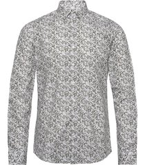 camo print stretch slim shirt skjorta business multi/mönstrad calvin klein