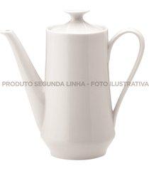 cafeteira porcelana schmidt - mod. itamaraty 2â° linha - branco - dafiti