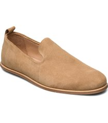 evo suede loafer loafers låga skor beige royal republiq