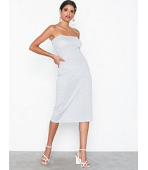 glamorous strappy midi dress festklänningar