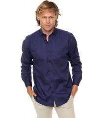 camisa azul scotfield chicago 30 - clásico