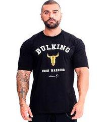 camiseta iron warrior classic preta