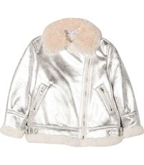 monnalisa metallic jacket