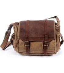 tsd brand turtle ridge canvas messenger bag