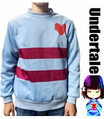 game undertale cosplay costume frisk casual jumper pullover sweater tops tee