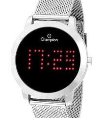 relógio champion digital ch40017t feminino