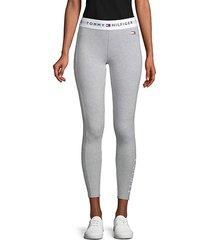logo-print leggings